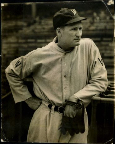 Walter Johnson Debuts 109 Years Ago Today!