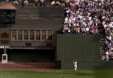 "Polo Grounds, Manhattan, NY, September 29, 1954 – ""The Catch"" by Willie Mays"