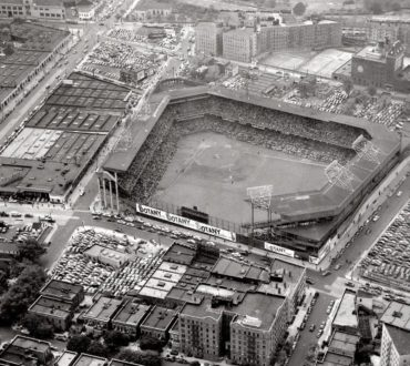 Ebbets Field, Brooklyn, NY, October 1, 1951 – Game One of the Playoff Series between Giants and Dodgers