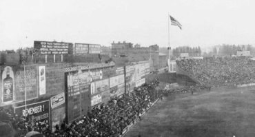 Fenway Park, Boston, MA, October, 12, 1914 – Crowd awaits Game Three between Braves and Athletics