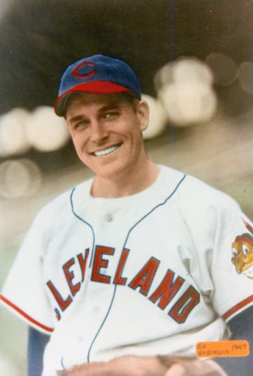 Our Salute to Eddie Robinson, Last Surviving Member of the 1948 Cleveland Indians!