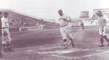 Braves Field, Boston, MA, April 21, 1935 – Braves Babe Ruth hits his 710th career HR in 8-1 loss