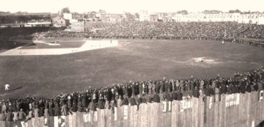 Union Park, Baltimore, MD, September 27, 1897 – Boston Beaneaters battle Orioles for National League Pennant