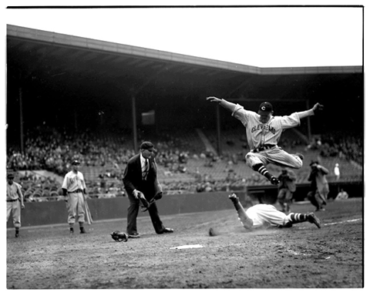 Fenway Park, Boston, MA, May 20, 1937 – Indians Jeff Heath flies like a butterfly in 16-5 romp over Red Sox