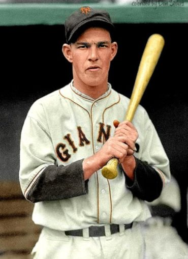 Beautiful Mel Ott Colorization by Don Stokes!