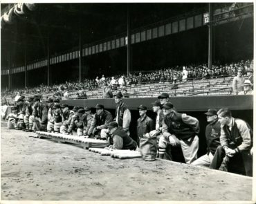 Yankee Stadium, Bronx, NY, April 20, 1939 – With some sleuth work, a very historic photo of Ted Williams' first MLB game is uncovered