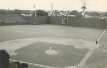 Griffith Stadium, Washington D.C., May 21, 1949 – American League bottom feeders the Browns and Senators in a 7-6 thriller