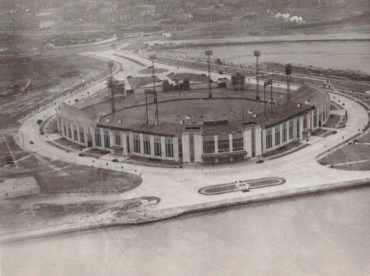 Roosevelt Stadium, Jersey City, NJ – Home to Jersey City Giants and where Jackie Robinson made his debut with Montreal Royals