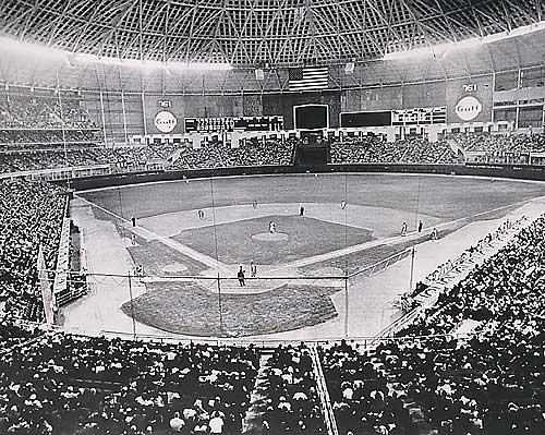 The Astrodome Opens, April 9, 1965 – The Indoor Era in Baseball Begins!