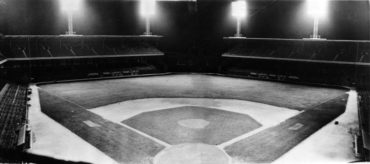Comiskey Park, Chicago, IL, August 11, 1939 – Trial run with new lights days before first night game for White Sox