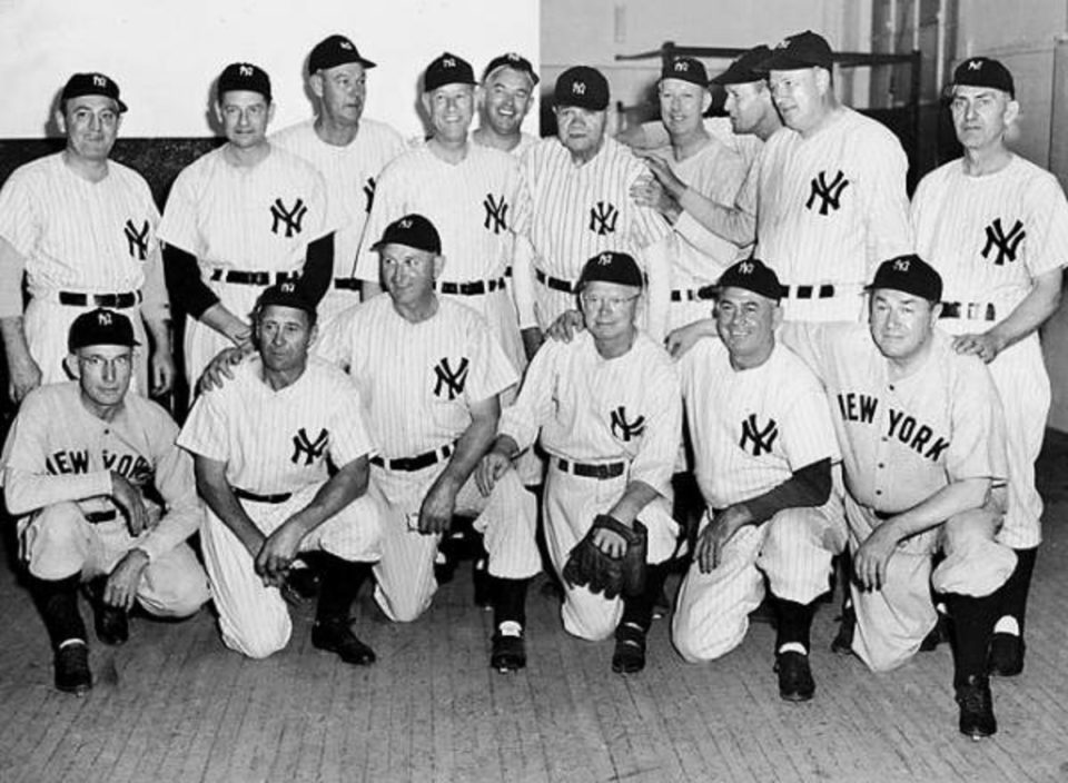 Twenty-Five Year Reunion of the 1923 World Series Champion Yankees!