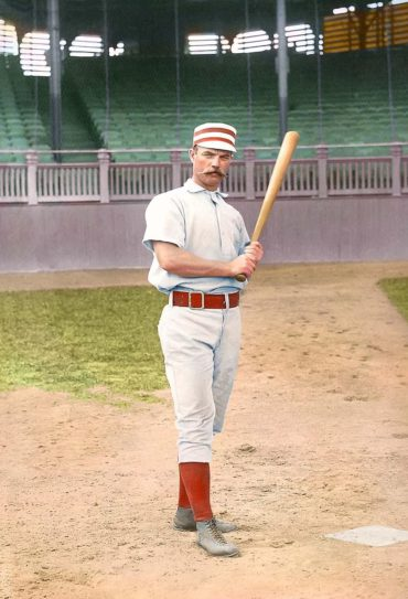 George Wood (1880-1892) – Outfielder with a rifle arm and played in first perfect game in MLB history (6/12/1880)