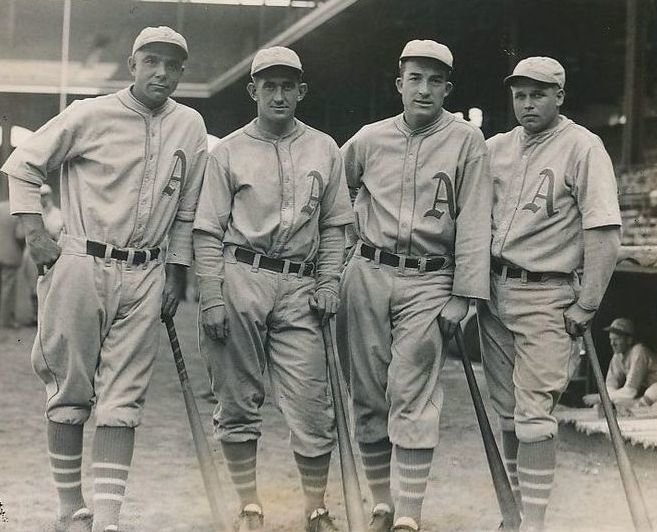 """The Philadelphia Athletics Complete A """"Double Triple Steal""""!"""
