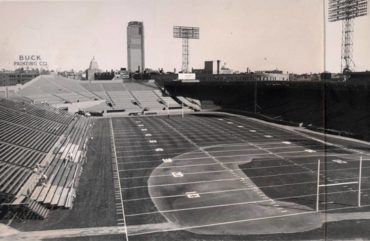 NFL in Ballpark Series  Fenway Park, Boston, MA, ca 1963 – Home to the AFL's Boston Patriots for six years
