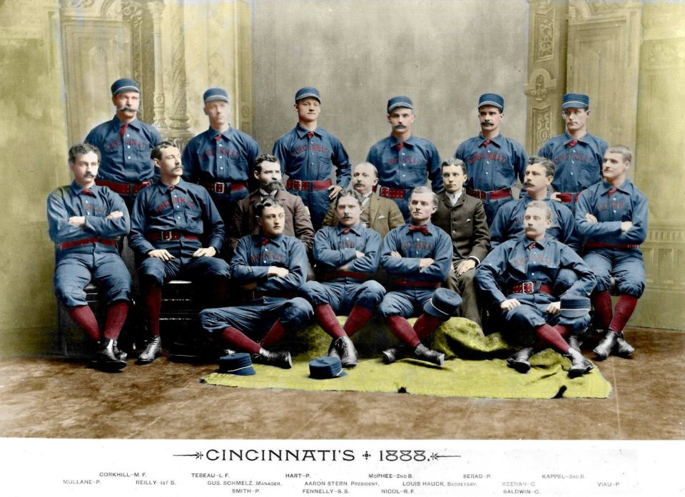 Another Gem From Don Stokes: The 1888 Cincinnati Red Stockings!