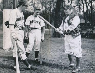 Honus Wagner in the 1940's