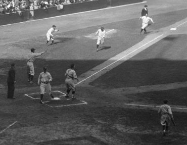 Yankee Stadium, Bronx, NY, October 7, 1927 – Yankees Spank Pirates 8-1 In World Series Play