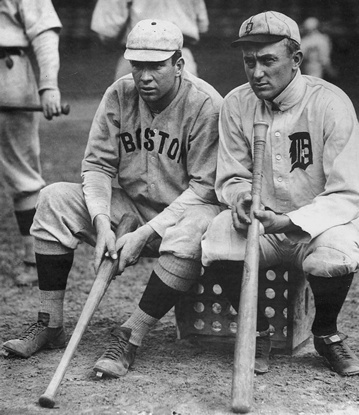 A Significant Date For Both Ty Cobb and Tris Speaker!