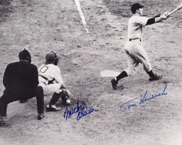 """Mickey Owen the """"Goat"""" of the 1941 World Series"""