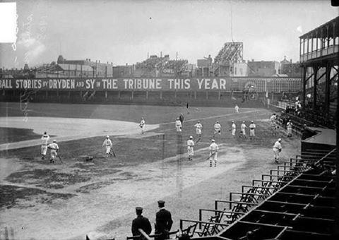 a72bd672 West Side Park, Chicago, Illinois, 1908 - Chicago Cubs home 1885 ...