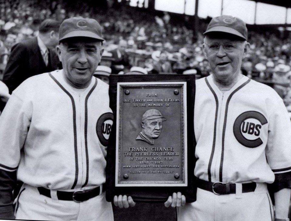 Johnny Evers and Joe Tinker End 33-Year Feud!