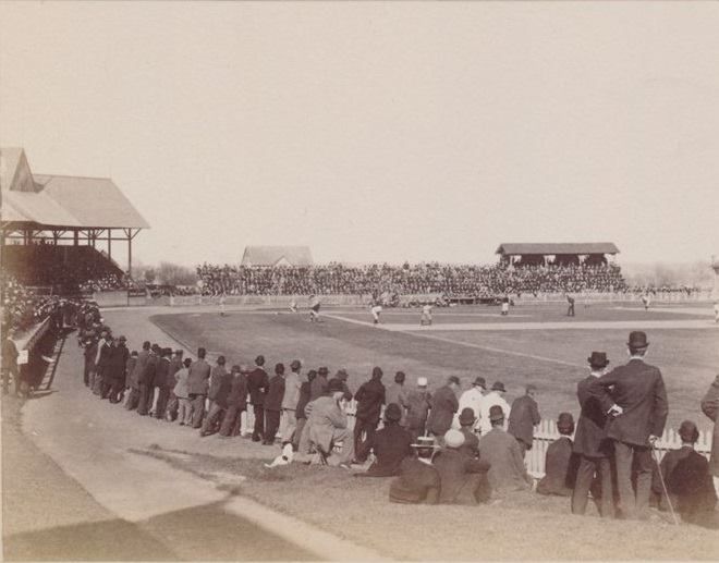 Princeton, NJ, April 11, 1896 – The Princeton nine fall to the NY Giants 11-10 in a exhibition game
