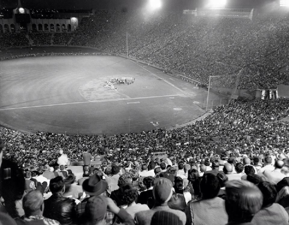 """Roy Campanella Night"" Draws Record Crowd of 92,103!"