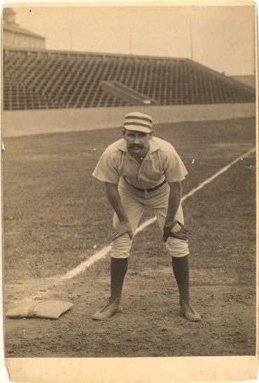 Joe Mulvey (1883-1895) – Third baseman who batted .261 for his career and committed six errors in one game on July 30, 1884