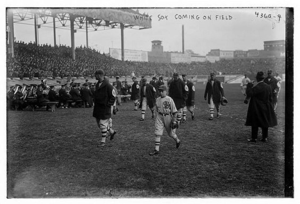 1917 White Sox and the 1917 World Series!