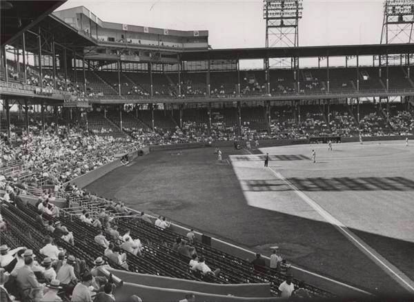 Sportsman Park, St Louis, MO, September 27, 1953 – The Browns last game in St Louis ends in 2-1 loss in front of 3,174