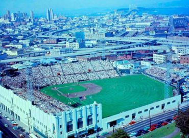 Seals Stadium, San Francisco, CA (1931-1959) – Home to the PCL's San Francisco Seals and later the Giants who moved to west coast in 1958