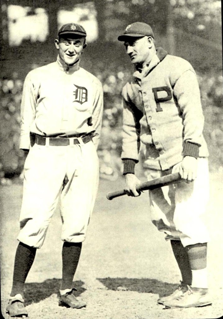 The 1909 World Series: The Pirates' Honus Wagner vs. the Tigers' Ty Cobb!