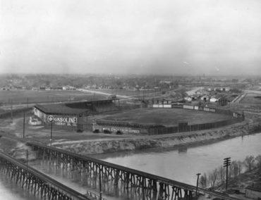 Island Park, Wichita, KS, June 21, 1925 – The Negro League Wichita Monrovians beat a Ku Klux Klan team and hate 10-8