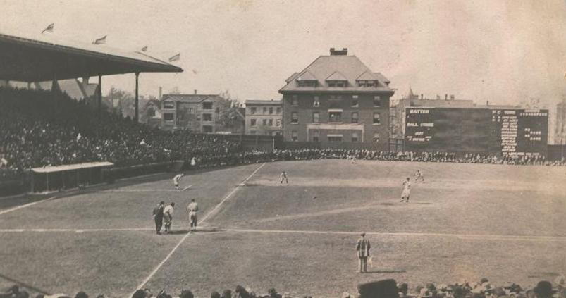 Cubs Debut In Weeghman Park 103 Years Ago Today!